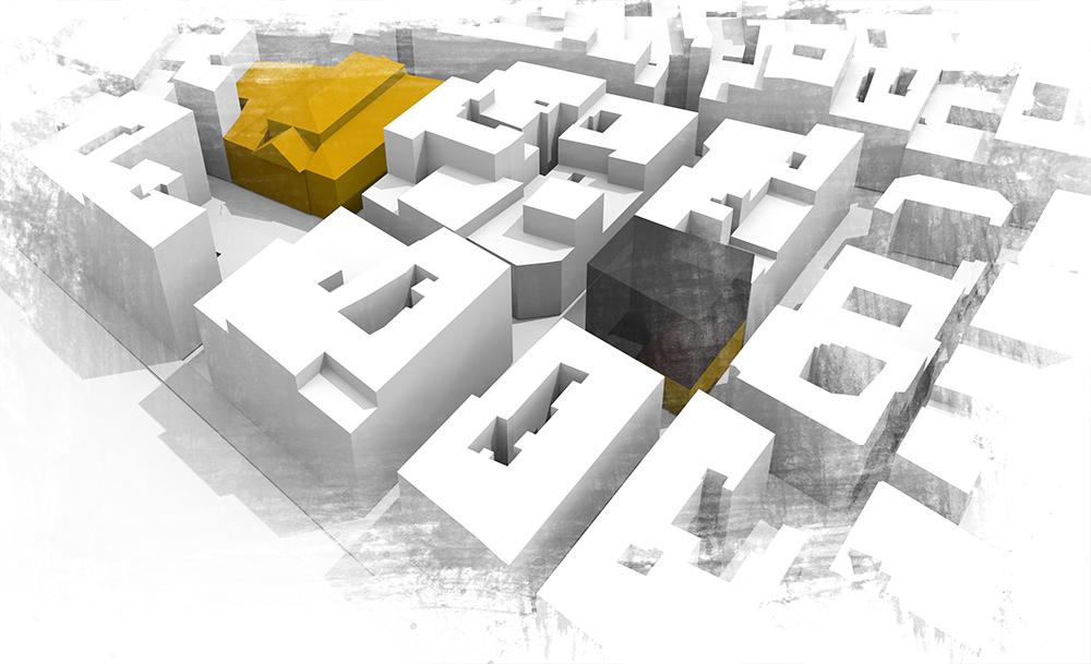 Architecture Interieur plan de masse