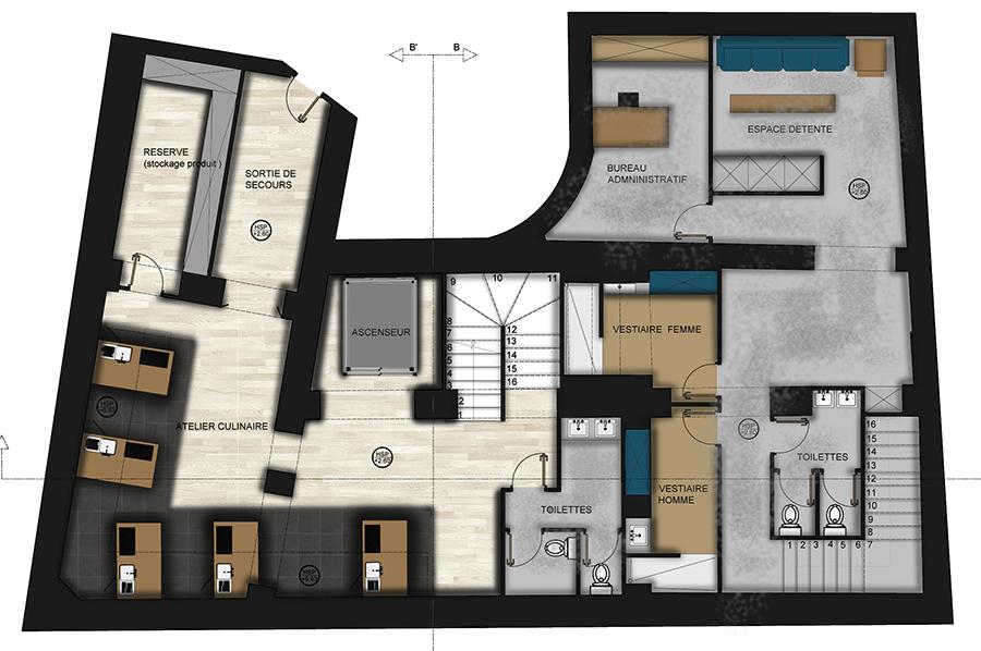 Projet-boulangerie-architecture-interieur-plan-sous-sol